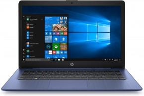 """Notebook HP 14-ds0006nc 14"""" AMD A4 4GB, 64GB, Blue + ZDARMA sluchátka Connect IT"""
