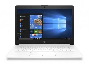 """Notebook HP 14"""" Intel Celeron 4GB, 64GB, bílý 4XX13EA +ZDARMA """"Antivir Bitdefender Plus"""" v hodnotě 1 199 Kč"""
