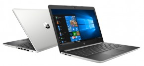 "Notebook HP 14"" Intel Celeron 4GB, 64GB, stříbrný 4XX11EA"