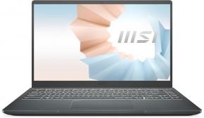 Notebook MSI Modern 14 B11SB-216CZ i7 16GB, SSD 512GB, MX450