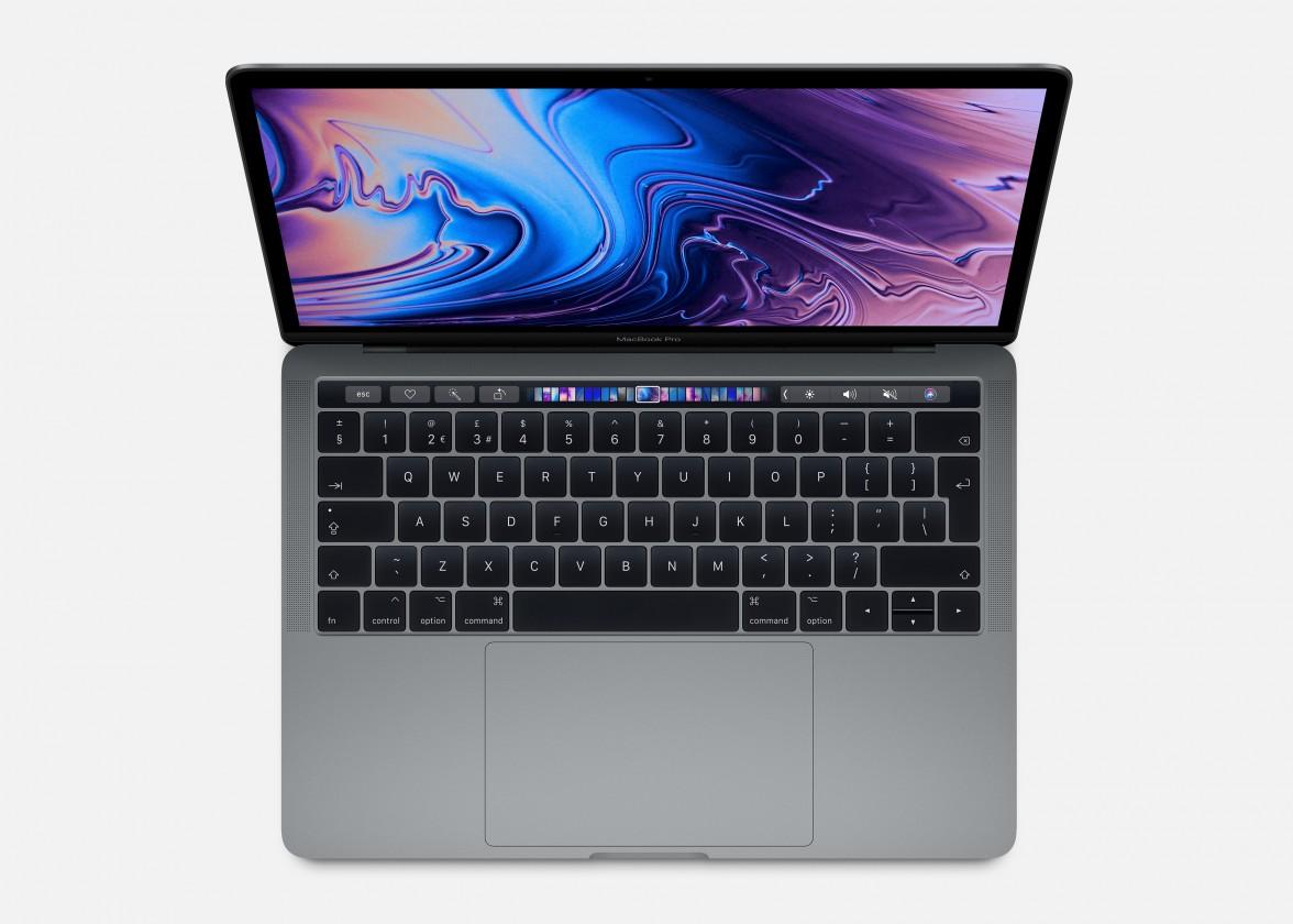 """Notebooky, konzole, PC zlevněno Apple MacBook Pro 13"""" i5 8GB, SSD 256GB - Space Grey, MUHP2CZ/A P"""