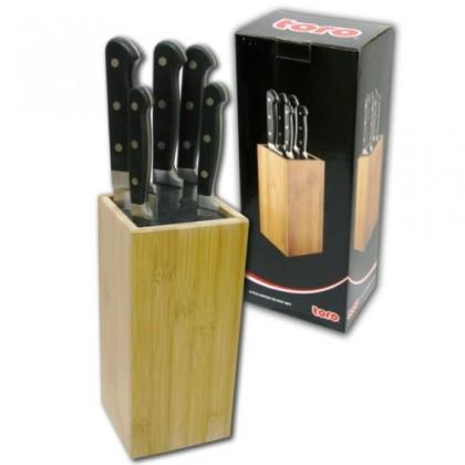 Nože Toro 263054 Blok na nože + 5 nožů