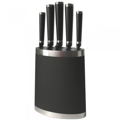 Nože TORO Blok na nože + 5 nožů, černá (263360)