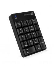 Numerická bezdrátová klávesnice Connect IT NumCALC, černá