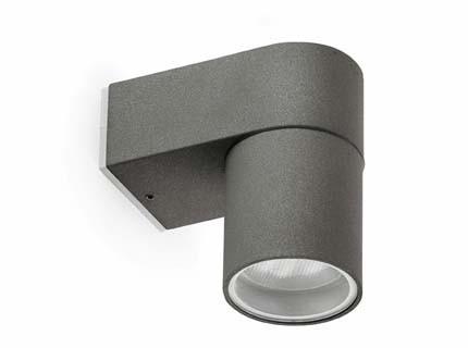 Nupo - Nástěnné svítidlo (tmavá šedá)
