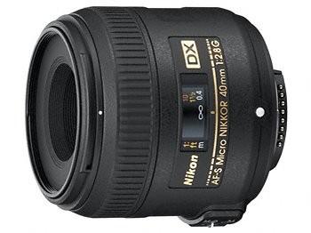 Objektivy s pevným ohniskem Nikon AF-S 40mm f/2.8G DX Micro