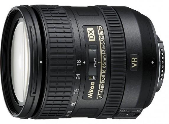 Objektivy typu zoom Nikon 16-85mm f/3.5-5.6G ED VR AF-S DX