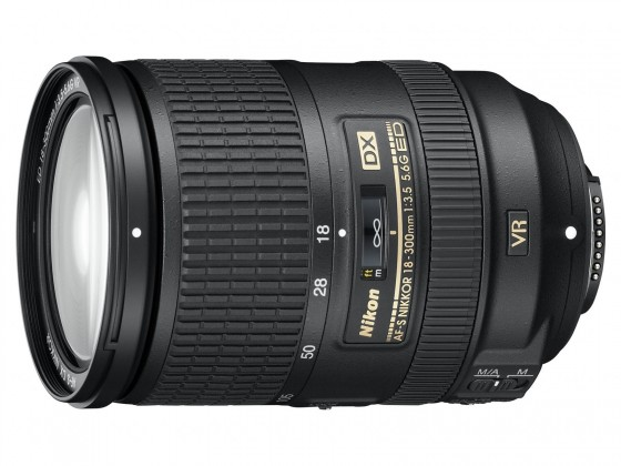 Objektivy typu zoom Nikon 18-300mm f/3.5-5.6G ED AF-S DX VR