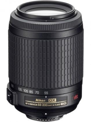 Objektivy typu zoom Nikon 55-200 mm F4-5.6 AF-S DX VR IF-ED