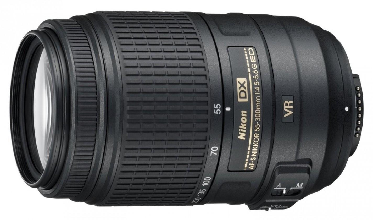 Objektivy typu zoom Nikon 55-300mm f/4.5-5.6G AF-S DX VR