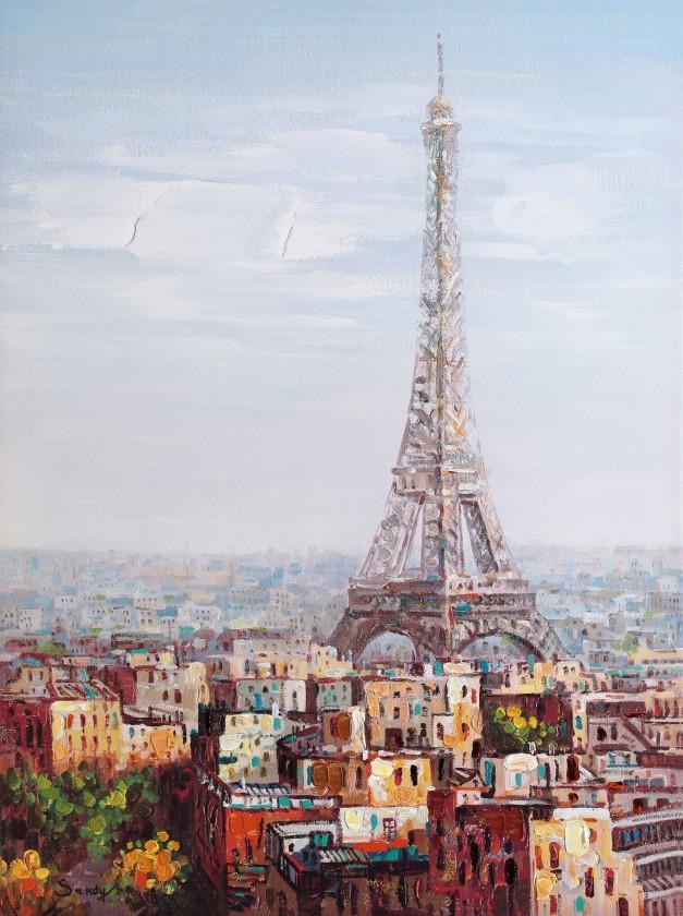 Obraz B010, 120x90 cm (print a paint)