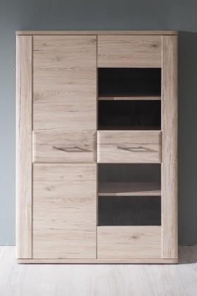 Obývací pokoje ZLEVNĚNO Canby TYP 03 (san remo sand LDTD,san remo sand MDF)