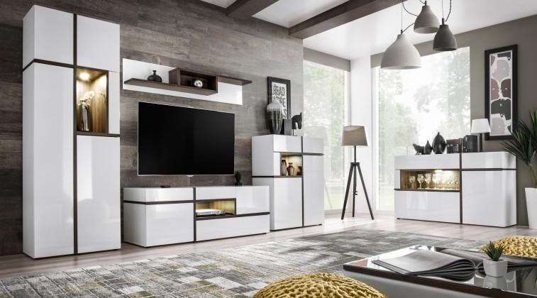 Obývací pokoje ZLEVNĚNO Obývací stěna Cross
