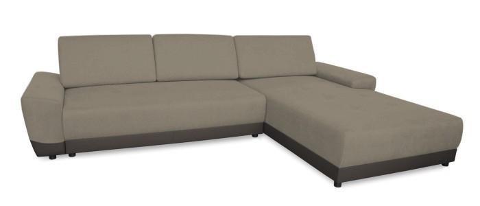 Obývací pokoje ZLEVNĚNO Rohová sedací souprava rozkládací Dakar univerzální (S23/MN115)
