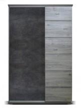 Obývací skříň Holm (figaro, beton)