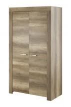 Obývací skříň Sky - 2x dveře, ABS (country šedá)