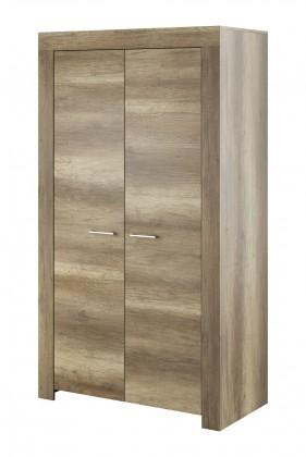 Obývací skříně Obývací skříň Sky - 2x dveře, ABS (country šedá)