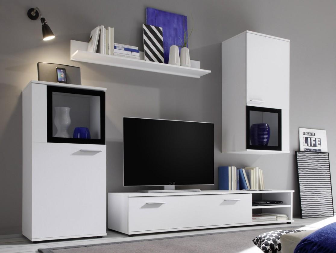 Obývací stěna AN.251 - obývací stěna (bílá)