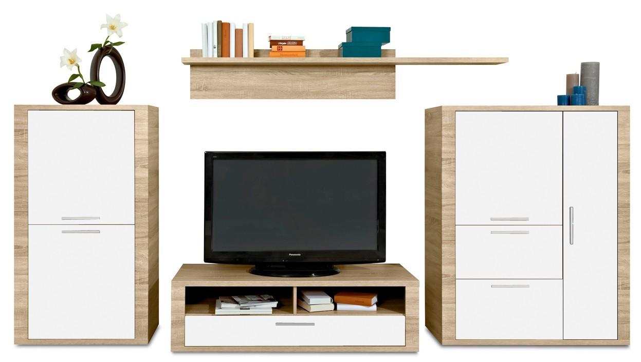 Obývací stěna Cool - Obývací stěna 3232287 (dub HN/bílá)