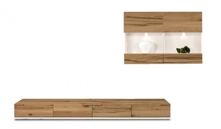 Obývací stěna Feel - Obývací stěna 4075155 (bílá/divoký buk/bílá)
