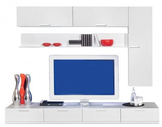Obývací stěna Game - obývací stěna 347270 (bílá/bílá)