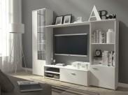 Obývací stěna Hugo (bílá)
