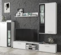 Obývací stěna Vita (bílá)