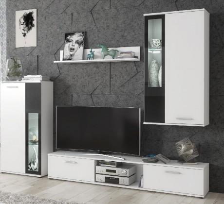 Obývací stěny Obývací stěna Vita (bílá)