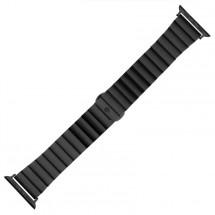 Ocelový řemínek pro Apple watch 38/40 mm, černá