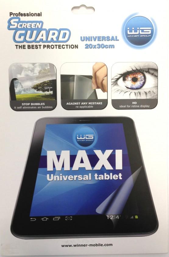 Ochranné fólie Ochranná fólie na displej pro tablety do 12#