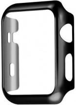 Ochranný kryt pro Apple Watch 4/5/6 44mm, polykarbonát, černá