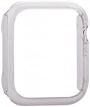 Ochranný kryt pro Apple Watch 4/5/6 44mm, polykarbonát, průhledná