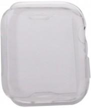 Ochranný kryt pro Apple Watch 4/5/6 44mm, termoplast, průhledná