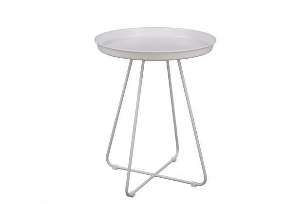 Odkládací stolek Konferenční stolek Pogorze - M (bílý)