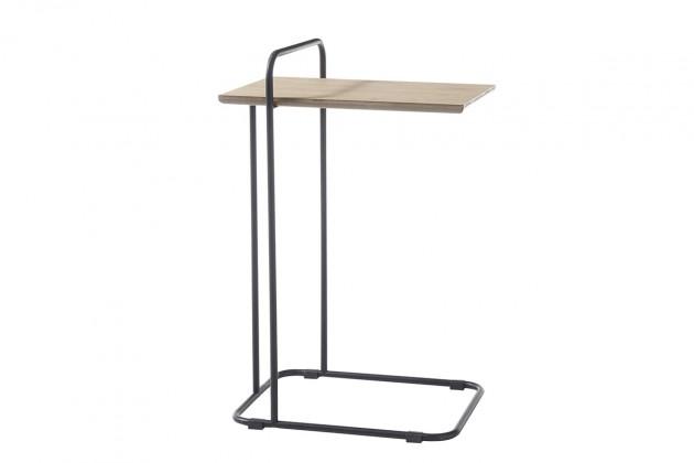 Odkládací stolek Přístavný stolek Sanga (hnědá)
