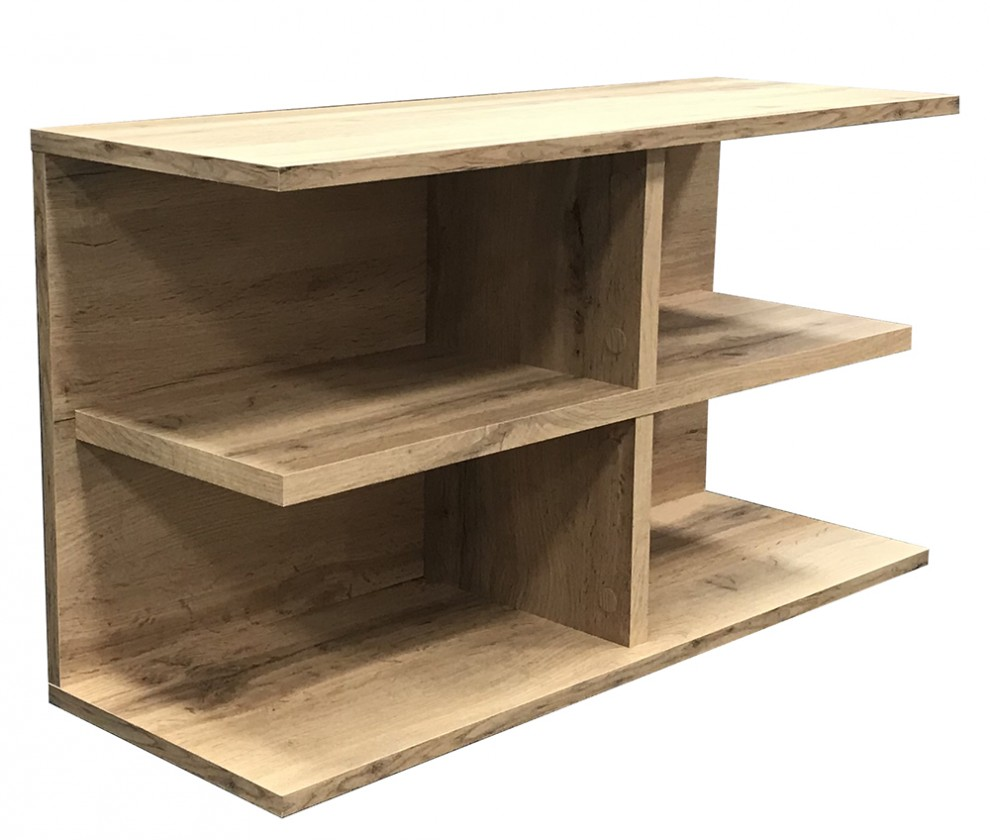 Odkládací stolek Přístavný stolek Slim (dub wotan)