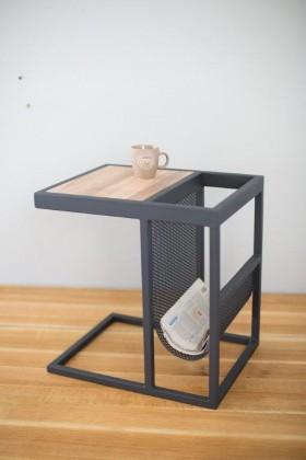 Odkládací stolek Přístavný stolek Wellnote