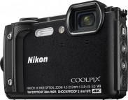 Odolný fotoaparát Nikon Coolpix W300, černá