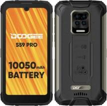 Odolný mobilní telefon Doogee S59 PRO 4GB/128GB, černá