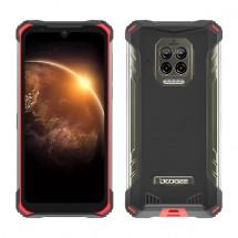 Odolný mobilní telefon Doogee S86 6GB/128GB, červená
