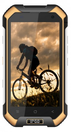 Odolný telefon iGET Blackview BV6000s 2GB/16GB, žlutá