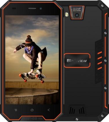 Odolný telefon iGET Blackview GBV4000 1GB/8GB, černá