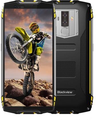 Odolný telefon iGET Blackview GBV6800 PRO 4GB/64GB, žlutá