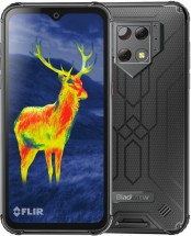 Odolný telefon iGET Blackview GBV9800 Pro Thermo 6/128GB, stříbr + DÁREK Antivir Bitdefender pro Android v hodnotě 299 Kč