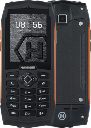 Odolný telefon MyPhone Hammer 3 PLUS, oranžová