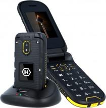 Odolný telefon MyPhone Hammer BOW PLUS, černá/oranžová + dárky