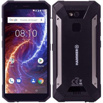 Odolný telefon myphone hammer energy 18x9 lte 3gb/32gb, černá myPhone