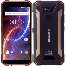 Odolný telefón myPhone Hammer ENERGY 18x9 LTE 3GB/32GB, oranž. + Powerbanka Swissten 6000mAh