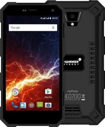 Odolný telefon myPhone Hammer ENERGY 2GB/16GB, černá