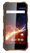 Odolný telefon myPhone Hammer ENERGY 2GB/16GB, černá/oranžová